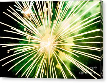 Canvas Print featuring the photograph Kaboom by Suzanne Luft