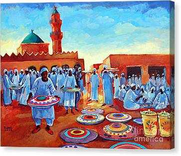 Canvas Print - Kadabas by Mohamed Fadul