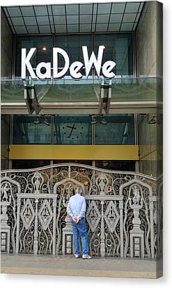 Kadewe Entrance Berlin Germany Canvas Print by Matthias Hauser
