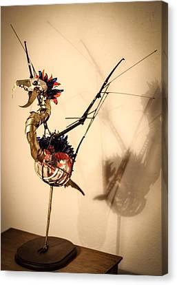 KaF Canvas Print by Oscar Cabral