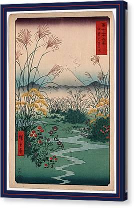 Kai Outsuki No Hara Canvas Print