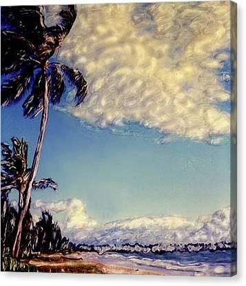 Kailua Beach 1 Canvas Print by Paul Cutright