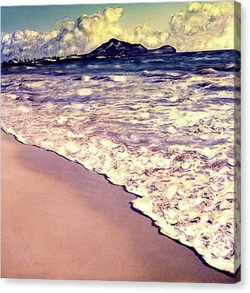 Kailua Beach 2 Canvas Print by Paul Cutright
