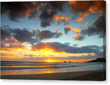 Kailua Beach Sunrise Canvas Print