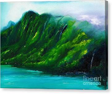 Canvas Print - Kailua Hawaii by Donna Chaasadah