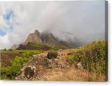 Kalalau Valley Rainbow - Kauai Hawaii Canvas Print by Brian Harig