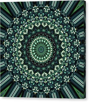 Kaleidoscope 10 Canvas Print by Tom Druin