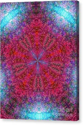 Canvas Print featuring the photograph Kaleidoscope 2 by Robyn King