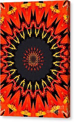 Kaleidoscope Aztec Canvas Print