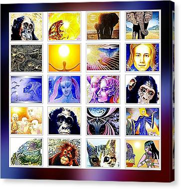 Kaleidoscope Canvas Print by Hartmut Jager