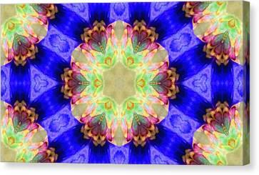Kaleidoscope Madness Canvas Print