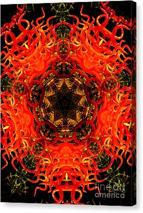 Kaleidoscope Of Blown Glass Canvas Print by Amy Cicconi