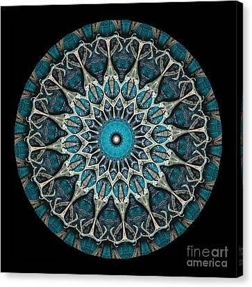 Machinery Canvas Print - Kaleidoscope Steampunk Series by Amy Cicconi