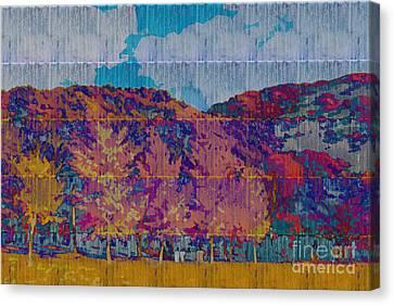 Kaleidoscopic Autumn Scene Vi Canvas Print