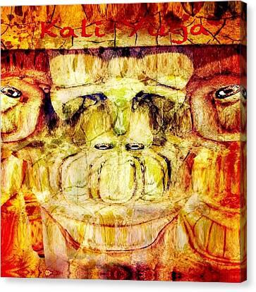 Kali Yuga Canvas Print by Carlos Avila