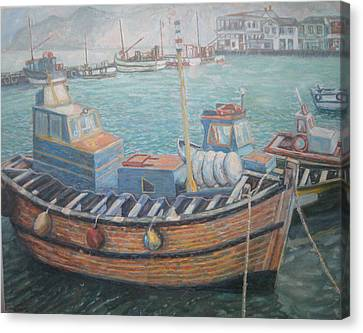Kalk Bay Harbor Canvas Print