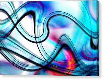Canvas Print featuring the digital art Kamasutra by Selke Boris