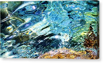 Kanaloa Abstract Canvas Print