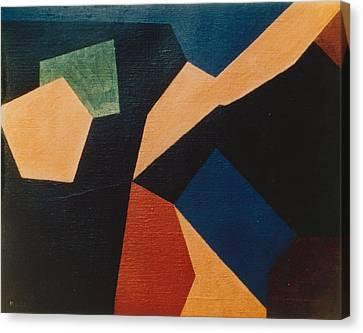 Kandinsky Homage 1972 Canvas Print