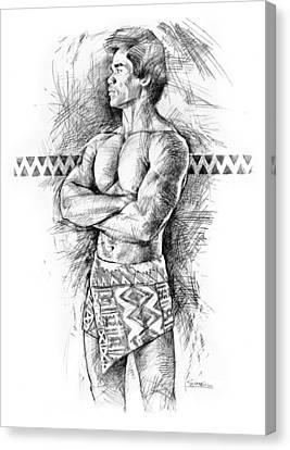 Kane O Hawaii Canvas Print by Douglas Simonson