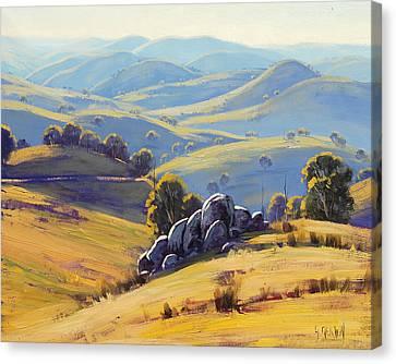 Kanimbla Granite Canvas Print by Graham Gercken