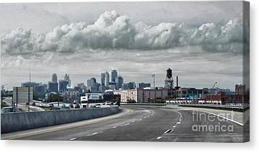 Kansas City - 01 Canvas Print by Gregory Dyer