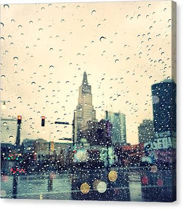 Kansas City #3 Canvas Print by Stacia Blase