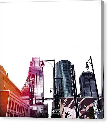 Kansas City #5 Canvas Print by Stacia Blase