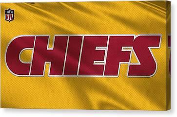 Kansas City Chiefs Uniforms Canvas Print