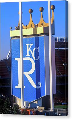 Kansas City Royals, Baseball Stadium Canvas Print