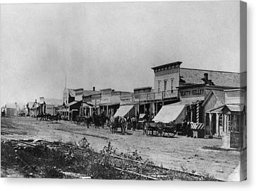 Kansas Dodge City, 1878 Canvas Print by Granger