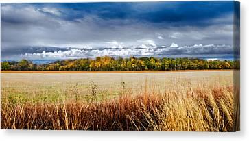 Kansas Fall Landscape Canvas Print