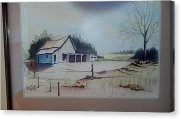 Kansas Farm Canvas Print