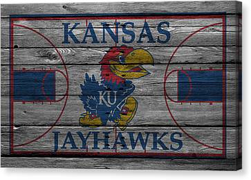 Player Canvas Print - Kansas Jayhawks by Joe Hamilton