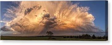 Kansas Storm Cloud Canvas Print