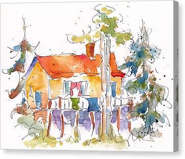 Kapasiwin Kabin Canvas Print by Pat Katz