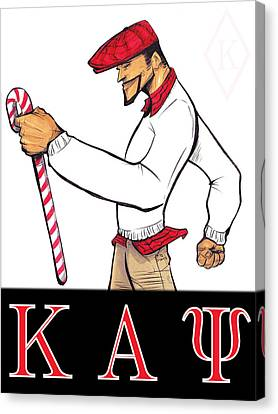 Kappa Alpha Psi Canvas Print by Tu-Kwon Thomas