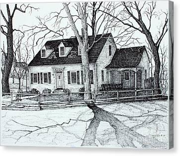 Kappa Sigma House Apsu Canvas Print by Janet Felts
