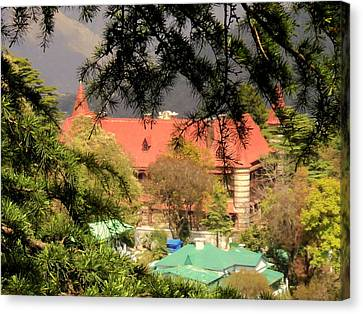 Kapurthala Palace Mussoorie Canvas Print by Salman Ravish