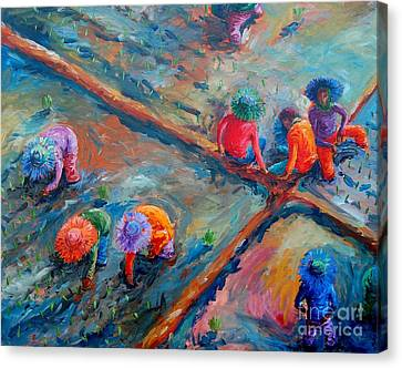 Pinoy Canvas Print - Kapuy by Paul Hilario