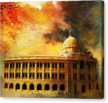 Karachi Port Canvas Print by Catf