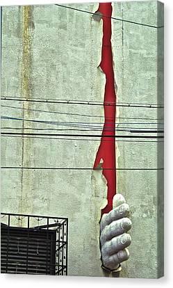 Karate Chop Canvas Print