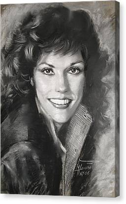Karen Carpenter Canvas Print