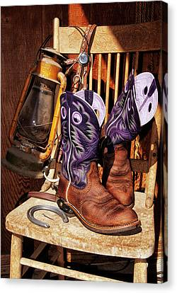 Karen's Cowgirl Gear Canvas Print