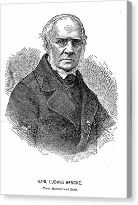 Karl Ludwig Hencke Canvas Print
