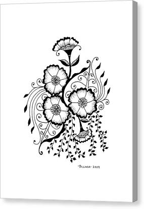 Karla's Flowers Canvas Print