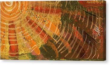 Karma  Canvas Print by Anne-Elizabeth Whiteway