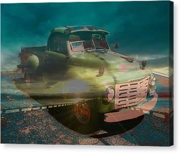 Karma Cruiser Canvas Print by Laureen Murtha Menzl