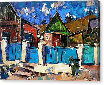 Karpaty-charleston. Canvas Print by Anastasija Kraineva