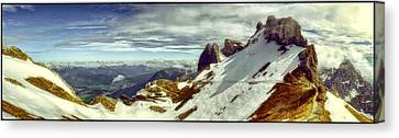 Karwendel Light Canvas Print by Adele Buttolph